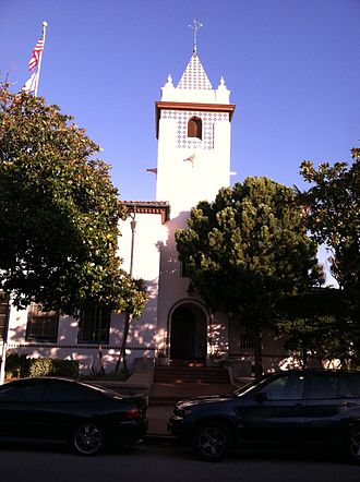 Pacific Palisades, Los Angeles - Pacific Palisades Charter Elementary School front tower.