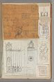 Page from a Scrapbook containing Drawings and Several Prints of Architecture, Interiors, Furniture and Other Objects MET DP372145.jpg