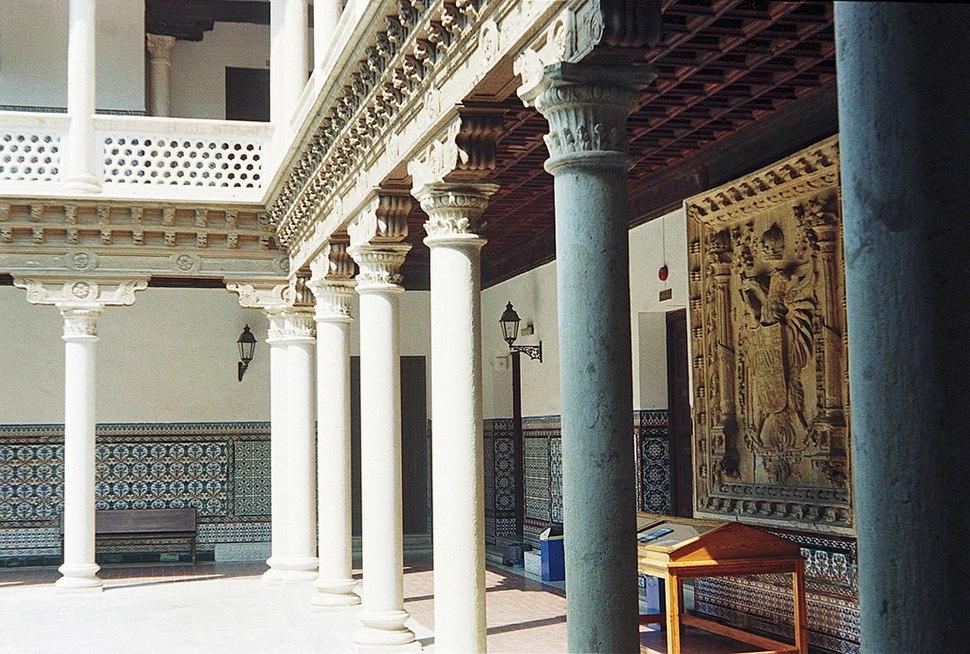 Patio del Palacio de Antonio de Mendoza.