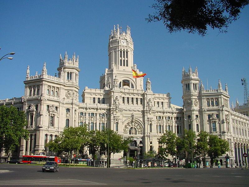 File Palacio De Comunicaciones Sede Del Ayuntamiento De