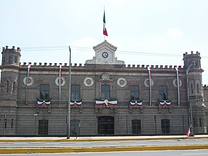 Palacio de Lecumberri - The Lecumberri building.