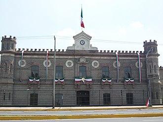 Palacio de Lecumberri - The Lecumberri building.
