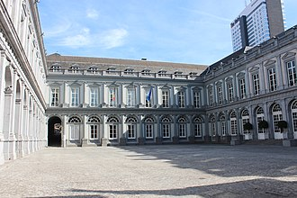 Sablon (Brussels) - The Egmont Palace, now part of the Belgian Ministry of Foreign Affairs