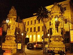 Palazzo Barberini at night