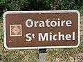 Panneau Oratoire St Michel St André Désert 2.jpg