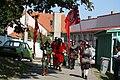 Parade at UNESCO celebrations 2009 in Třebíč, Třebíč District.jpg