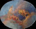 Paris, mairie du 10e arrdt, salle des fêtes, Henri Bonis, Les Arts 03.png
