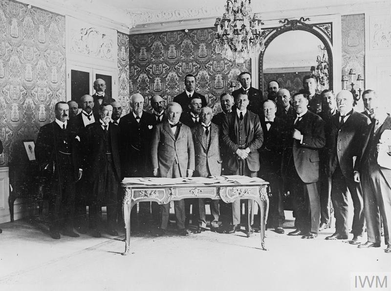Paris peace Conference british delegates