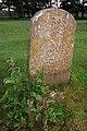 Parish boundary marker, Longwater Lawn, New Forest - geograph.org.uk - 493962.jpg