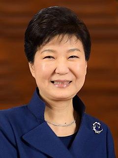 Park Geun-hye Eleventh President of South Korea