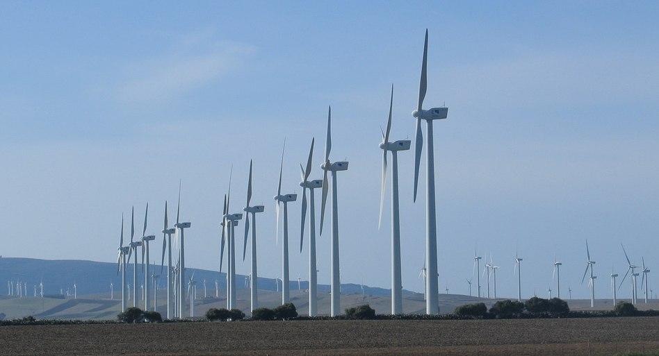 Parque eólico Barbate (Cádiz) - Spain