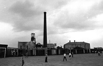 Lancashire Coalfield - Parsonage Colliery in 1980