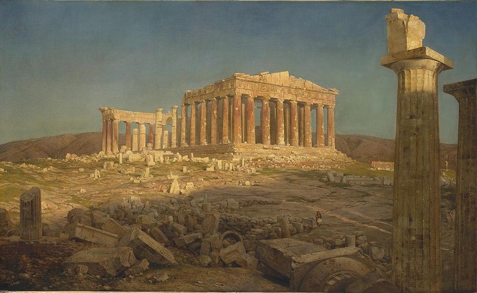 Parthenon (1871) Frederic Edwin Church