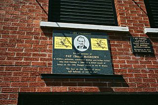 Pat McGeown Provisional IRA volunteer (1956-1996)