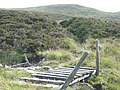 Path crosses a dilapidated bridge - geograph.org.uk - 37451.jpg