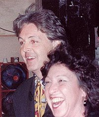 McCartney at the Grammy Awards, February 1990.
