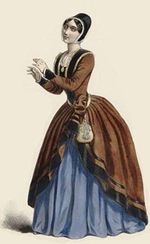 Le prophète - Pauline Viardot as Fidès in the original production of Le prophète