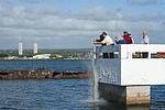 Pearl Harbor survivor ash-scattering ceremony 141211-N-IU636-217.jpg