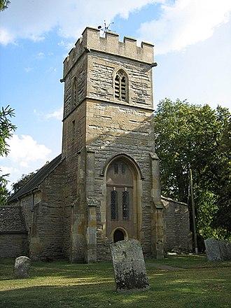 Pebworth - Image: Pebworth church