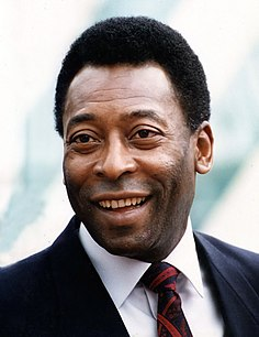 Pelé Brazilian retired footballer