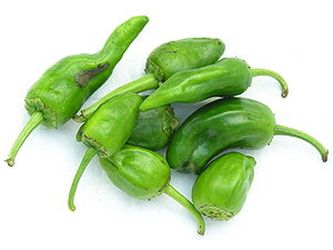 Padrón - Raw Padrón peppers