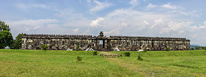 Ratu Boko - Front view of the pendopo