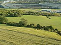 People climbing to the White Horse on Cheriton Hill - geograph.org.uk - 1562172.jpg