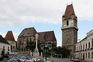 Hauptplatz von Perchtoldsdorf