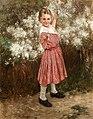 Peske Girl picking Flower.jpg