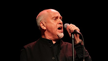 Peter Gabriel performing at the 2011 Skoll Awards. Peter-Gabriel-2011I2.jpg