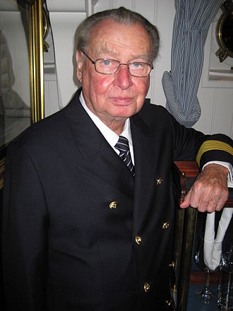 Peter Tamm - Peter Tamm on the Rickmer Rickmers in 2008