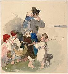 Children on Their Way to Work in the Fields
