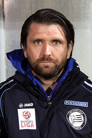 Peter Hyballa - Hyballa with Sturm Graz in 2013