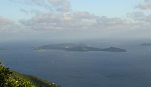 Peter Island - Peter Island (view from Sage Mountain, Tortola)