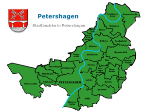 Petershagen - Divisions of Petershagen