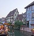 Petite Venise depuis le pont de la rue de Turenne (Colmar) (10).jpg