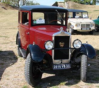 Peugeot 201 - Image: Peugeot 201 1930 04