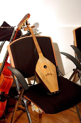 Music of Georgia (country) - Phanduri Georgian traditional instrument.