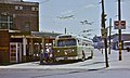 Phila Marmon trolleybus loading at Frankford stn, 1978.jpg