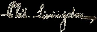 Philip Livingston - Image: Philip Livingston signature