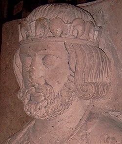 Gisant de Philippe Ier à l'Abbaye de Saint-Denis