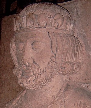 Philip I of France - Philip's tomb effigy in Fleury Abbey