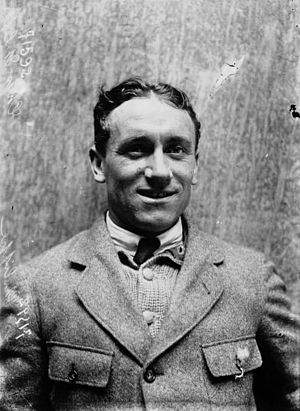 1914 Tour de France - Philippe Thys, the winner of the 1914 Tour de France