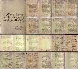 National Library of the Philippines - The Philippine Declaration of Independence was among one of thousands of items pilfered from the National Library's collections.