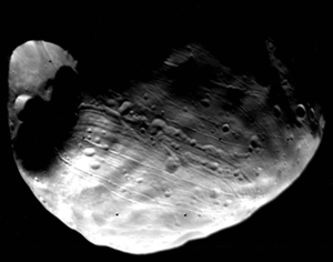 Stickney (crater) - Image: Phobos Full