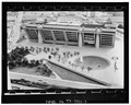 Photocopy,aerial view of main elevation looking south - Dallas City Hall, City Hall Plaza, Dallas, Dallas County, TX HABS TEX,57-DAL,1-3.tif