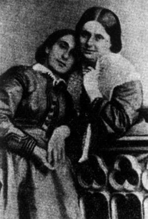 Maria Rosetti - Maria Rosetti (right) and Pia Brătianu