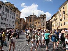 Piazza della Rotonda din Roma4