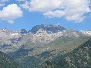 Perdiguero - Peak of Perdiguère, Lac du Portillon and ascending route