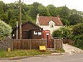Piddletrenthide, telephone exchange and box - geograph.org.uk - 1343378.jpg